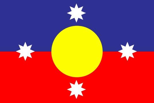 NEW AUSTRALIAN FLAG 2015
