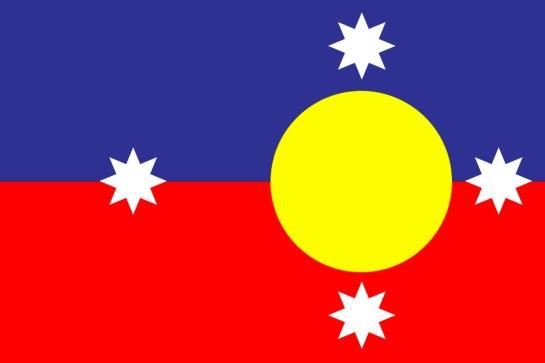 NEW AUSTRALIAN FLAG V2 2015