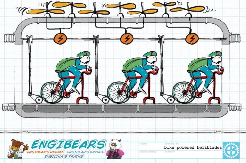 FANTASTIC FUTURES TRAIN_CARRIAGE_bikes copy