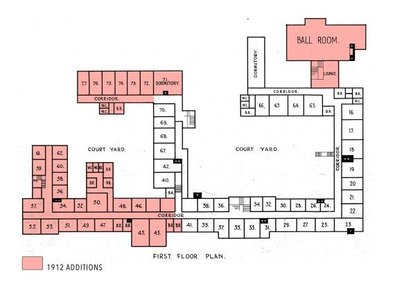 1912 FF Plan Kosciuszko Hotel